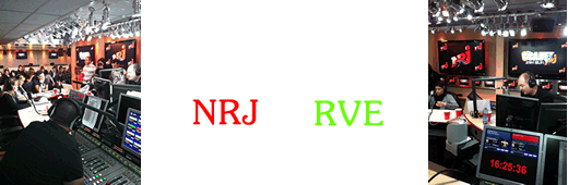 Interventions radio sur NRJ et RVE
